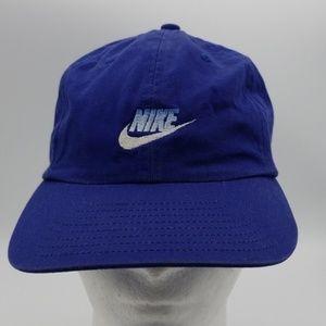 vintage Nike blue dad hat cap